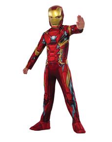 Disfraz de Iron Man Capitán América Civil War para niño