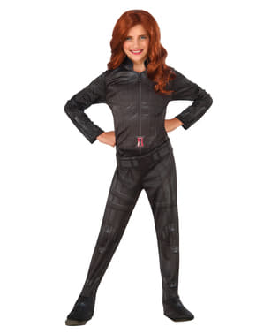 Black Widow Captain America Civil War Kostüm für Mädchen