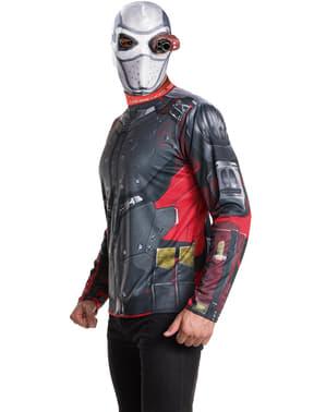 Kit fato de Deadshot Esquadrão Suicida para homem