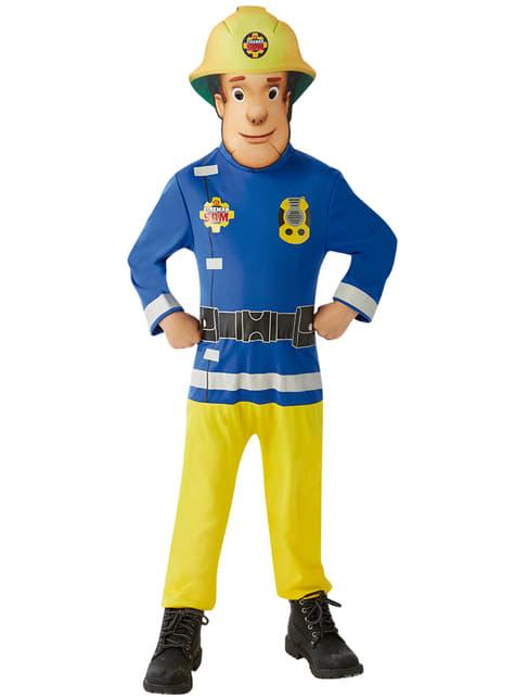 Disfraz de Sam el Bombero classic para niño