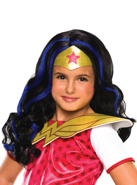 Girl's Classic Wonder Woman Wig