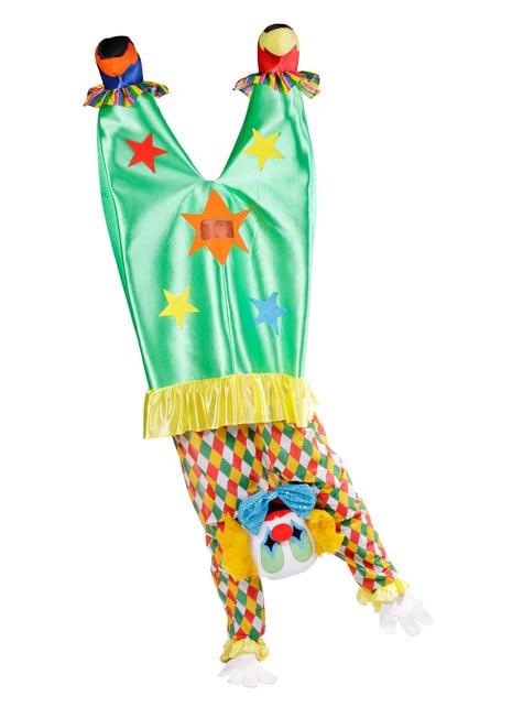 Kostým pro dospělé klaun hlavou dolů