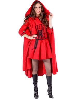 Costume da cappucetto rosso da donna speciale
