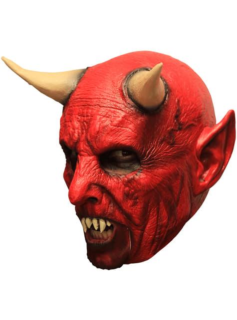 Máscara de demonio infernal para adulto