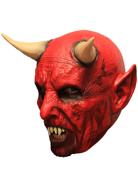 Máscara de demonio infernal para adulto - para tu disfraz