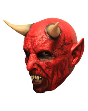 Maschera da demone infernale per adulto