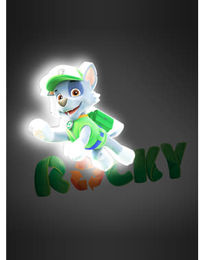 Decoratieve lamp 3D Rocky Paw Patrol