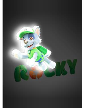 Dekorationslampa 3D Rocky Hundpatrullen