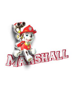 Candeeiro decorativa 3D Marshall Paw Patrol