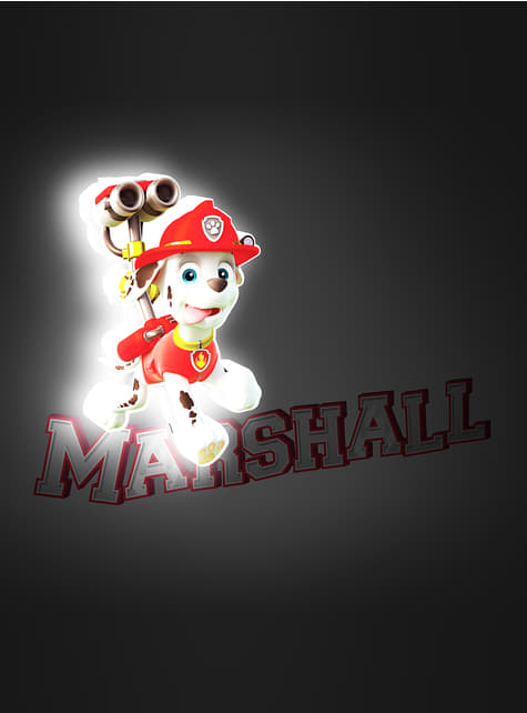 3D Deco Light Marshall Paw Patrol