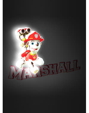 Paw Patrol Marshall 3D lampe