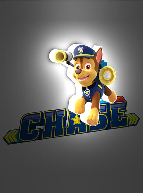 3D Deco Light Chase Paw Patrol
