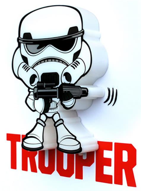 3D Deco Light Stormtrooper Cartoon