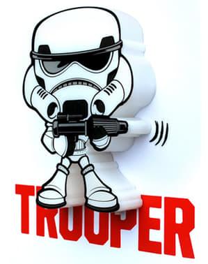Lampada da muro 3D Stormtrooper cartoon Star Wars
