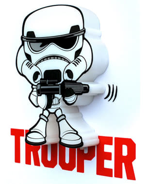 Lampe décorative 3D Stormtrooper cartoon