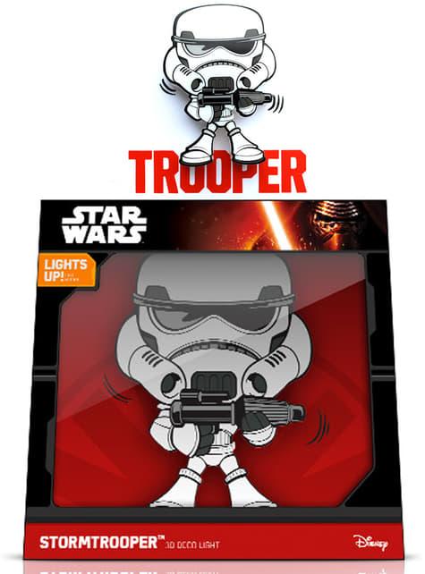 Lámpara decorativa 3D Stormtrooper cartoon