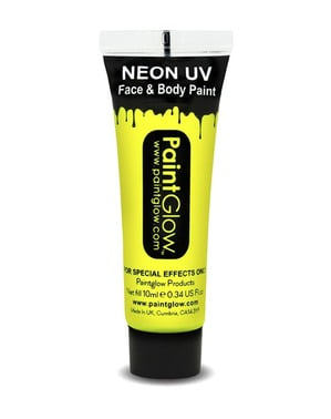 Flacone makeup fosforescente neon UV