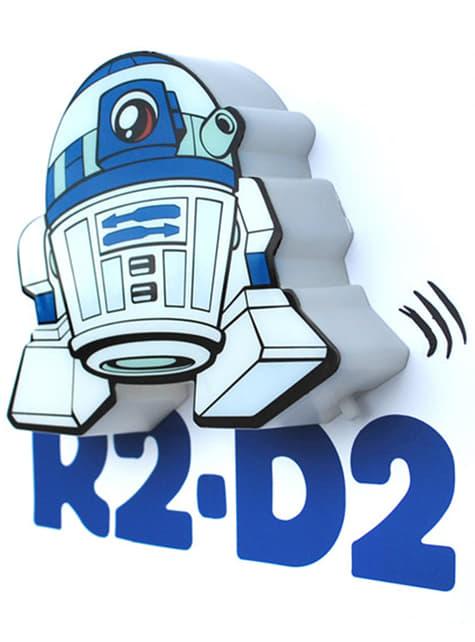 Candeeiro decorativa 3D R2D2 cartoon