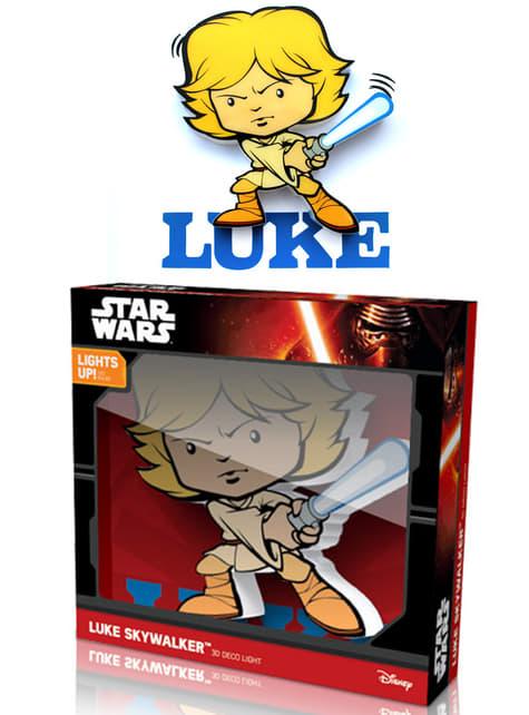 3D деко світло Люк Скайуокер мультфільм