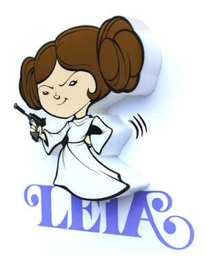 Veioză decorativă 3D Leia cartoon