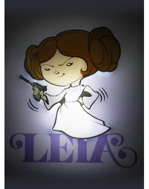 Decoratieve lamp 3D Leia cartoon