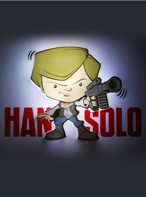 Decoratieve lamp 3D Han Solo cartoon