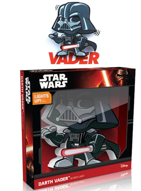 3D Deco Light Darth Vader Cartoon