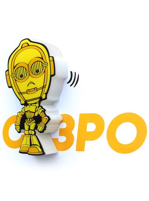 Lámpara decorativa 3D C3PO cartoon