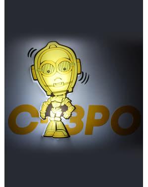 3 डी डेको लाइट C3PO कार्टून