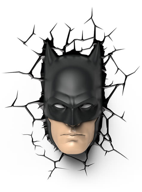 Lámpara decorativa 3D Batman