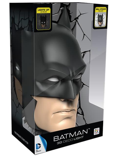 Dekorative Nachttischlampe 3D Batman
