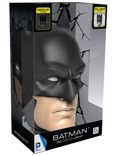 Lámpara decorativa 3D Batman - barato