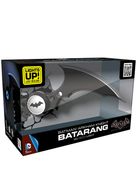 3D Deco Light Batman Batarang
