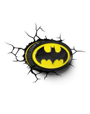 3D Deco Işık Batman logosu