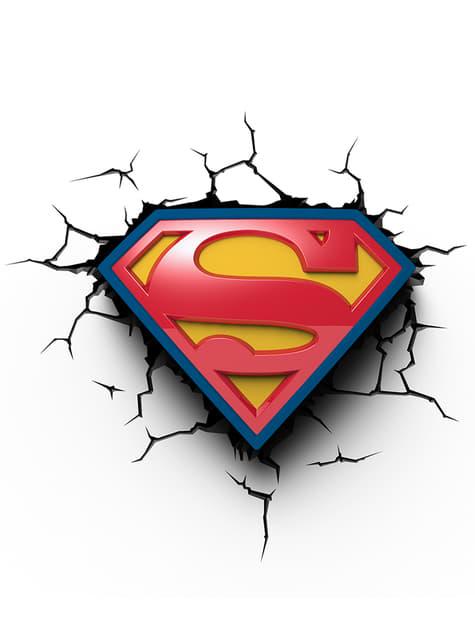 Lampka Led-3D Superman logo