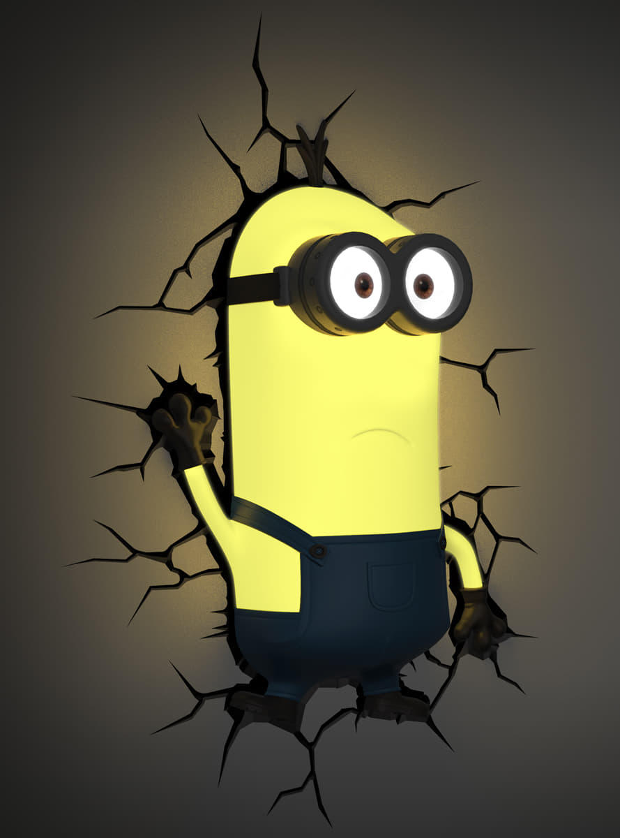 3D Deco Light Kevin Minions *official* for fans | Funidelia