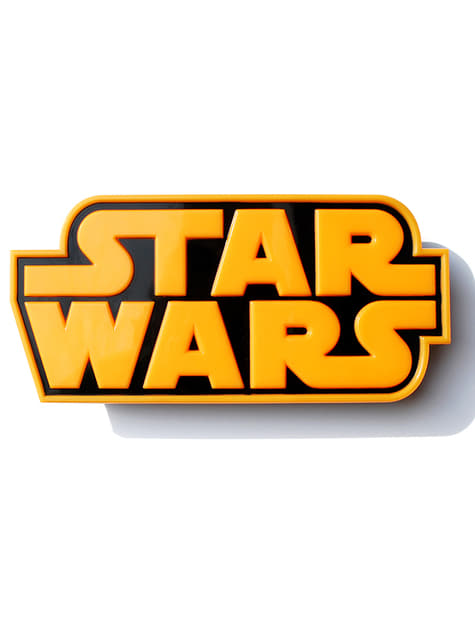 3D Deco Light Star Wars Logo
