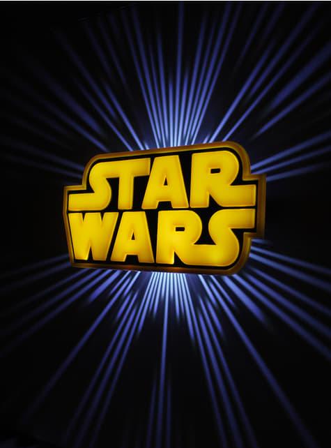 Candeeiro decorativa 3D Star Wars logo