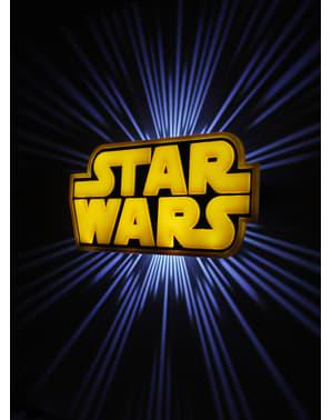 Dekorative Nachttischlampe 3D Star Wars logo