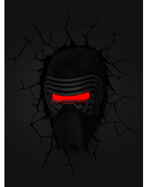 Decoratieve lamp 3D Kylo Ren