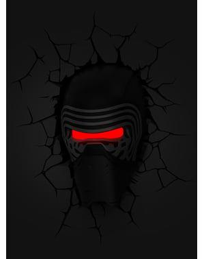 Star Wars Episodde VII Kylo Ren 3D lampe