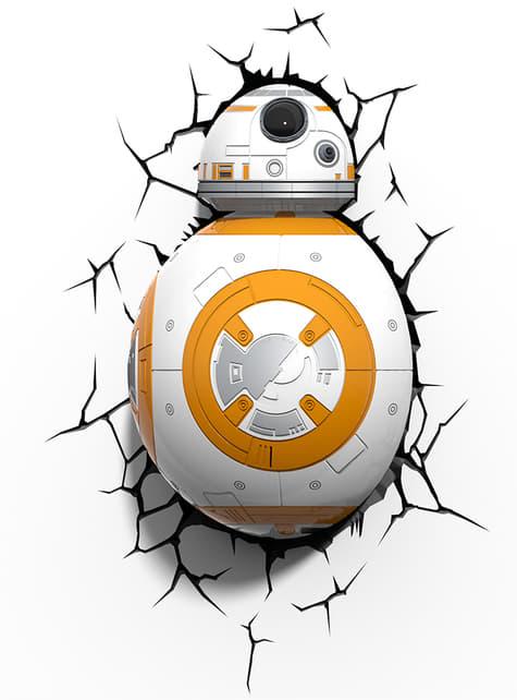 Candeeiro decorativa 3D BB-8