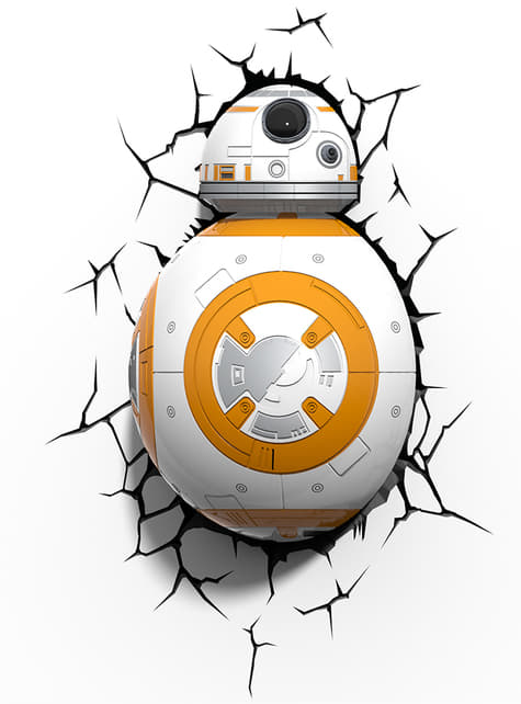 Lámpara decorativa 3D BB-8