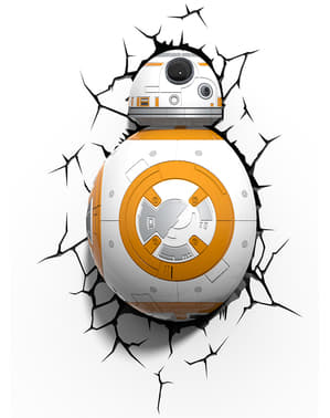 Lámpara decorativa 3D BB-8