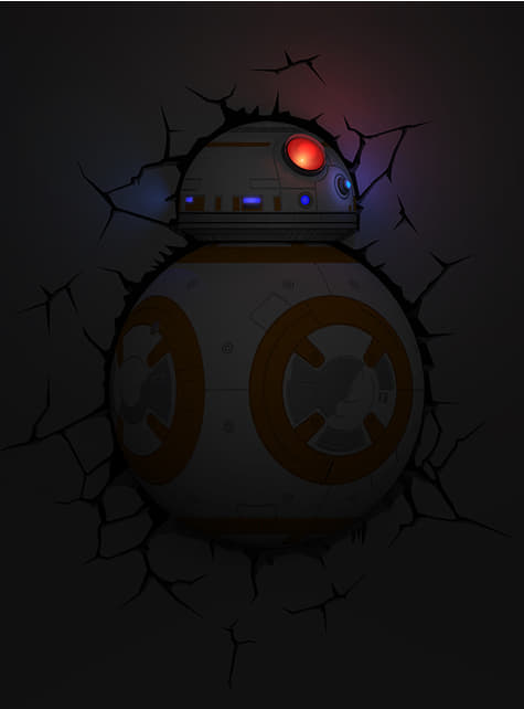 Lámpara decorativa 3D BB-8 - oficial