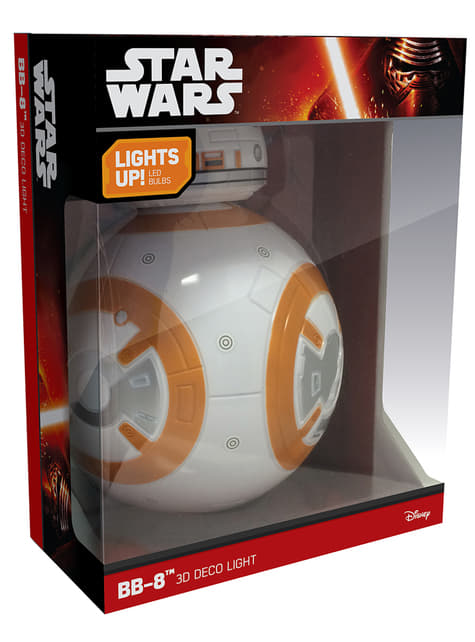 Lámpara decorativa 3D BB-8 - barato