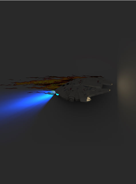 3D Deco Lamp Millennium Falcon