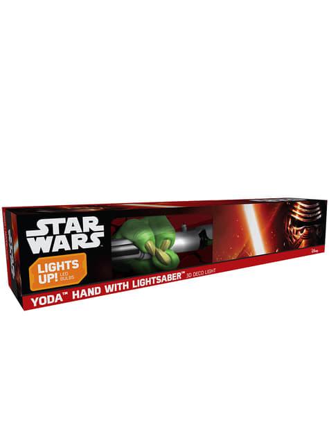 Lampe décorative 3D épée de Yoda