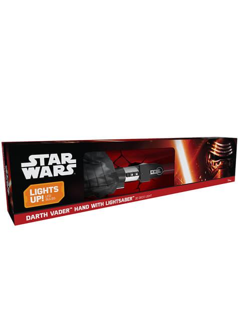 Decoratieve lamp 3D lichtzwaard Darth Vader
