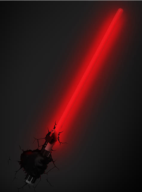 Lampe décorative 3D épée de Dark Vador